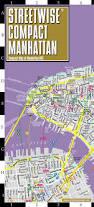 Downtown Manhattan Map Streetwise Compact Manhattan Map 20 Smaller Than Our Regular