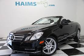 mercedes e350 convertible used 2013 used mercedes e class 2dr cabriolet e350 rwd at haims