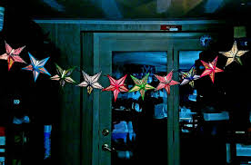 paper star lantern string lights party lights party decor