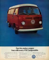 old volkswagen station wagon 1971 vw ad u0027campmobile u0027 vintage volkswagen magazine adver u2026 flickr