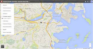Back Bay Boston Map by Msa 17 Boston
