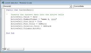 two types of vba macros vba sub procedures u0026 vba functions