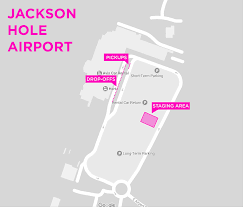 Jackson Hole Map Jackson Hole Airport Terminal Map Image Gallery Hcpr