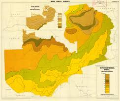 Zambia Map The Soil Maps Of Africa Display Maps
