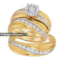 Ebay Wedding Rings by Wedding Set Rings For Bride And Groom Lake Side Corrals