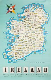 Map Ireland 203 Best Vintage Ireland N Ireland Posters Images On Pinterest