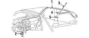 lexus is300 parts diagram parts com lexus antenna assy amplif partnumber 8630053080