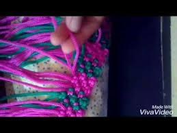 youtube cara membuat tas rajut dari tali kur cara membuat tas tali kur motif bunga mawar youtube barang untuk