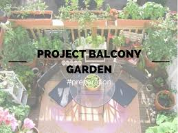project balcony garden preparation young and broke