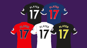 premier league to refresh names and numbers