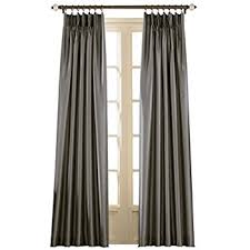 Pewter Curtains Curtainworks Marquee Pinch Pleat Curtain Panel Pewter