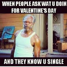 Single On Valentines Day Meme - 20 funny valentine s day memes for singles sayingimages com
