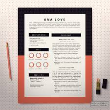 Modern Resume Templates Free Resume Template Bundle Cv Package With Cover Letters For Ms Word