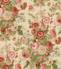 home decorating fabrics home decor print fabric waverly sitting pretty antique ソファー