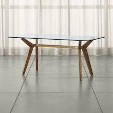 Glas Desk Glass Desks Crate And Barrel