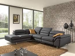 canap relax moderne canapé angle contemporain moderne option relax électrique
