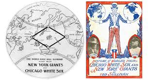 Chicago White Sox Map by The World U0027s Tour Of Baseball