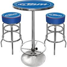 bud light bar light bud light bar table and stools set blue www kotulas com free