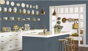 slate blue painted kitchen cabinets slate blue 12 ways to use slate blue paint in your home