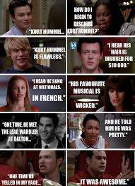 Glee Meme - 39 best glee images on pinterest glee quotes chris colfer and choir