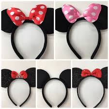 Minnie And Mickey Mouse Shower Curtain by Mickey Minnie Mouse Ears Headband Disney Trip Minnie Inpried