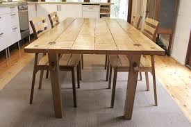 Dining Table Building Plans White Simple Outdoor Dining Table Diy Projects Awesome