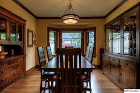 Bungalow Dining Room A Craftsman Bungalow In Oregon