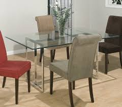 rectangular glass top dining room tables rectangle glass dining table dining room cintascorner glass