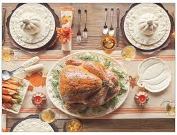 thanksgiving table settings splender