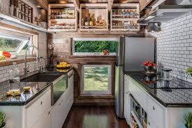 Tiny House Kitchen Designs Comfort And Luxury In A Tiny House Format