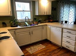 how to get polyurethane cabinets how to paint kitchen cabinets in 5 steps crochet it creations