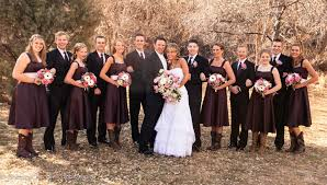 bridesmaid dresses with cowboy boots exactly how wedding and boots should not look the dresses look to