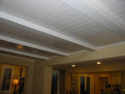 basement drop ceiling or drywall u2014 new basement and tile