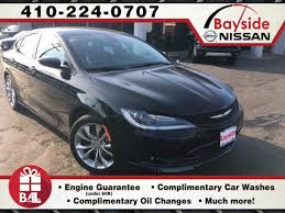 chrysler 200 check engine light 2015 used 2015 chrysler 200 s for sale in prince frederick md 705518
