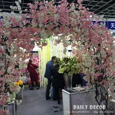 wedding arches supplies ems 152cm longer artificial cherry blossoms flowers wedding