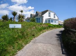 large seaside house for business groups overlooking st ives bay