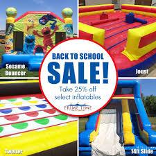 back to school sale prime time rental i dayton