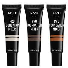 Makeup Nyx nyx professional makeup pro foundation mixers various shades