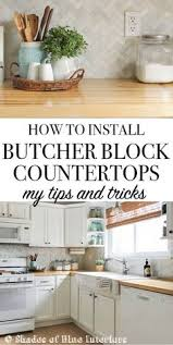 How To Install Backsplash In Kitchen by My Butcher Block Countertops Two Years Later Butcher Blocks