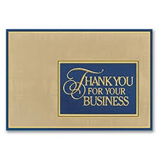 business thank you cards unique company business thank you cards