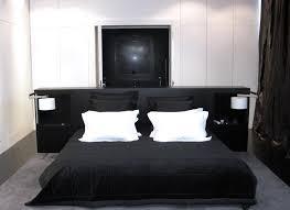 chambre a coucher noir et blanc emejing chambre a coucher mur noir contemporary design trends