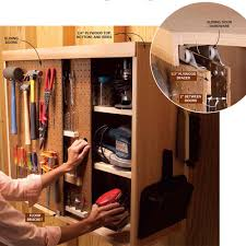 Making A Tool Cabinet Quick And Clever Workshop Storage Solutions Sliding Door
