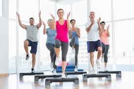 how many calories are burned in 20 minutes of step aerobics