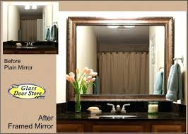 Bathroom Mirror Frames Kits Frame Mirror Bathroom Bathroom Mirror Frame Kit Mirror Frame Kits