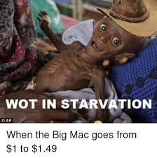 Wot Meme - wot in starvation cap when the big mac goes from 1 to 149 im