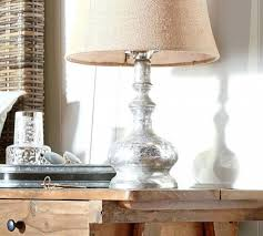 Pottery Barn Lamos Table Lamp Mercury Glass Table Lamp Base Pottery Barn Leera