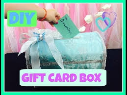 make a gift card how to make a gift card box diy tutorial for quinceaneras