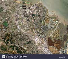 San Francisco County Map by Aerial Map Of Foster City San Mateo County San Francisco Bay