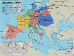 France On Europe Map by The War Grolier Online Atlas Napoleonic Wars 1789 1816 Battle