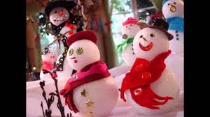 fun snowman christmas decorations for your home youtube